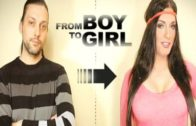 Boy to Girl Transformation full Body – V01 – Crossdresser Transgender