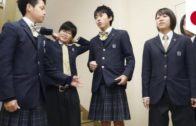 Gender swap: Japanese high school girls wear pants, boys wear skirts