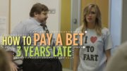 How To Pay A Bet 3 Years Late (Funny Video)