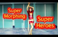 Super Heroes Morphing at WonderCon 2012 (shape shifting/transformation)
