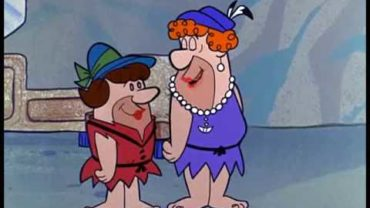THE FLINTSTONES- Fred & Barney in drag