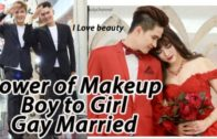 Makeup Transformation Boy To Girl – Makeup Tutorial Gay Married ( Full Video No Edit )