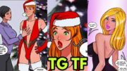 Best Christmas Gift  – Tg Transformation Story | tg tf | Kannel | Male to Female Transformation.