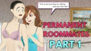 Permanent Roommates Part 1 – Tg Transformation Story | Male to Female Transformation | Tg Tf Comic.