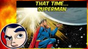 That Time Superman (Superboy) Turned into a Woman
