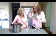 Crossdresser and wife Making delicious chicken bacon soup.  #crossdresser videos