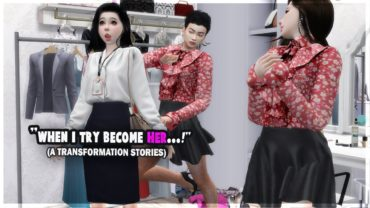 When Boy Transformed Into Girl | Boy to Girl Transformation Stories | (Sims 4)